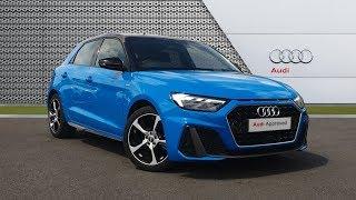 KY68XNJ AUDI A1 SPORTBACK TFSI S LINE BLUE 2018, Bradford Audi