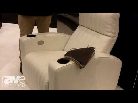 CEDIA 2016: Acoustic Smart Shows the Cleo Theater Chair with Articulated Headrest