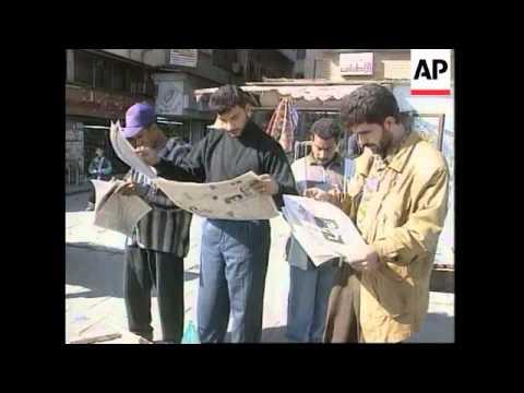 IRAQ: TRADE SANCTIONS LATEST