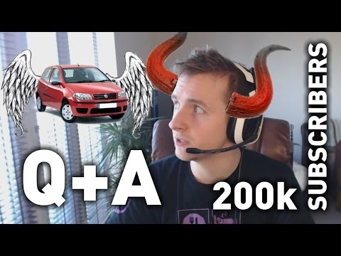 200,000 SUBSCRIBERS - Q+A