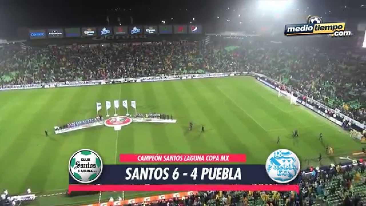 Santos Laguna 2-2 Puebla