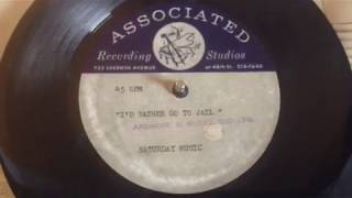 Unreleased 1967 US Garage Punk Demo Acetate by Mitch Ryder - I'd Rather Go To Jail !!!