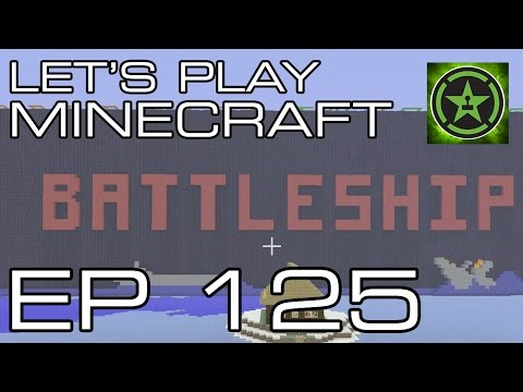 Let's Play Minecraft - Episode 125 - Battleship