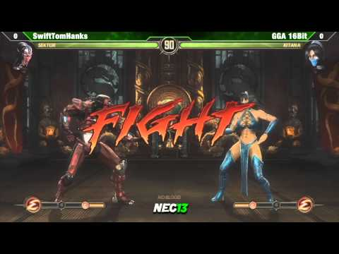 SwiftTomHanks vs GGA 16 Bit  - NEC13 MK9 Singles