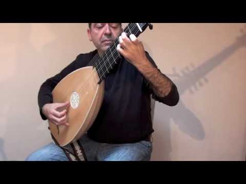 Prélude, Robert de Visée, played on the 14 course theorbo by Xavier Díaz-Latorre