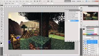 Aporte: Actión para Photoshop de edición de screenshot (Minecraft)
