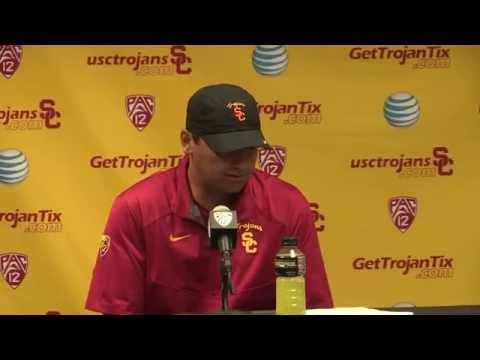 USC Football vs Colorado Post Game Presser