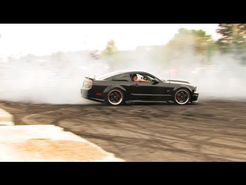 Automotion 2013 Burnouts! - Wisconsin Dells - Boosted Films