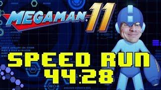 Mega Man 11 Speedrun (44:28)