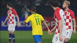 Copa do Mundo PES 2018 #6 Brasil x Croácia