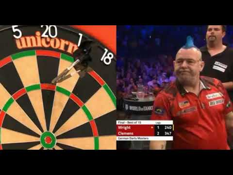 Peter Wright vs Gabriel Clemens German Darts Masters 2019 FINAL