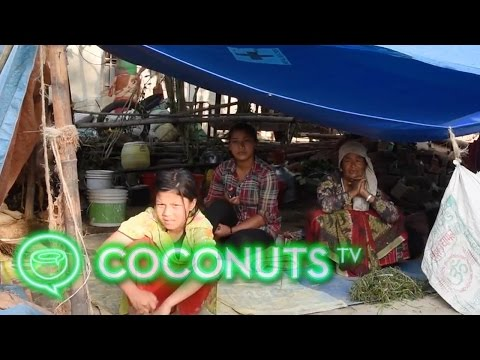 How Nepal's displaced families live post earthquake | Nepal Earthquake | Coconuts TV