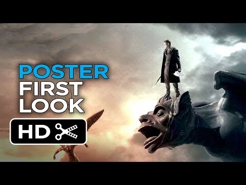 I Frankenstein New Poster 2014 Aaron Eckhart Movie Hd