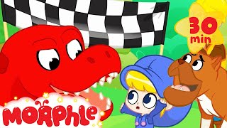 Dinosaur At The Dog Show - My Magic Pet Morphle | Cartoons For Kids | Morphle TV | BRAND NEW
