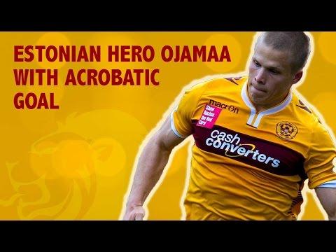 Estonian hero Ojamaa scores goal for Motherwell
