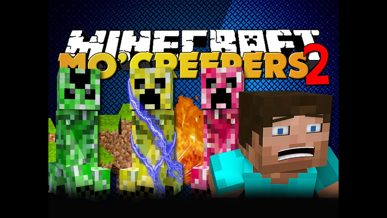 Minecraft Creeper Mod Minecraft Mod Mo' Creepers 2