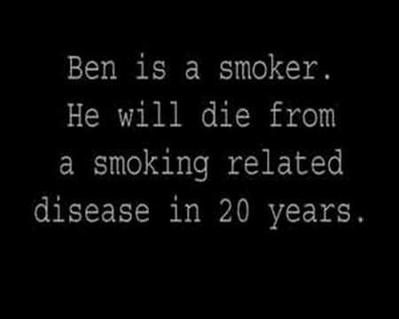 Passive Smoking Advert