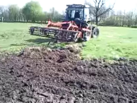 Ford 5610 Tractor cultivating