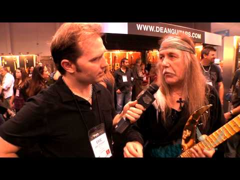 Dean Guitars 2014 N.A.M.M. Uli Jon Roth Interview