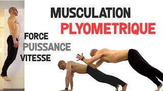 Séance musculation force-vitesse-explosivité SANS MATÉRIEL