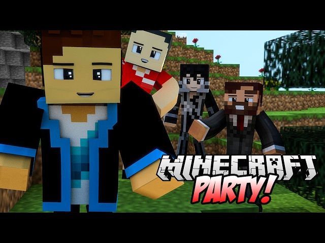 MINECRAFT PARTY! #80 - JANUSZ POZAMIATANY! | Vertez, HunterBright, Swiatek, Purpose