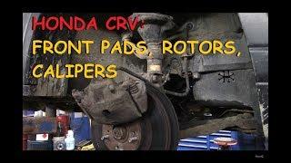 Honda CRV - Front Brake Pads, Rotors & Calipers Part IV