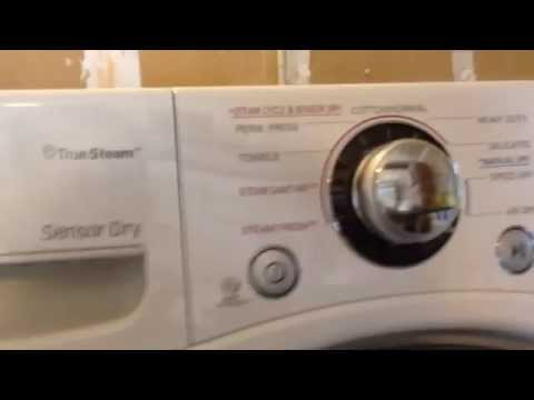 Review Of LG Washer Model WM2650HWA & LG GAS Dryer Model DLGX2651W (high Efficiency Models)