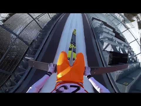 ZDF Wintersport Skisprungschanze 360 Grad Video VR