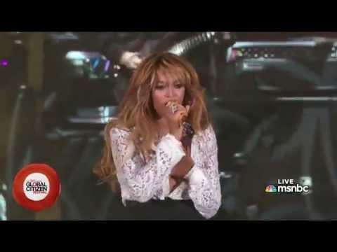 Holy Grail - Jay-Z Feat. Beyoncé (Live in Global Citizen Festival)