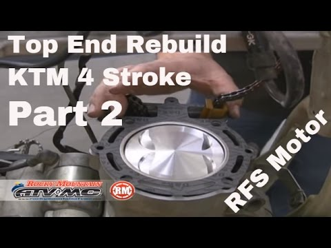 Motorcycle Top End Rebuild for Four-Stroke (Part 2 of 2)