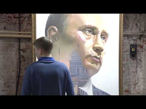 SUPERPUTIN: в Москве открылась выставка, посвящённая президенту