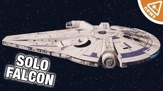 Why the New Millennium Falcon Details Have Fans Upset! (Nerdist News w/ Jessica Chobot)