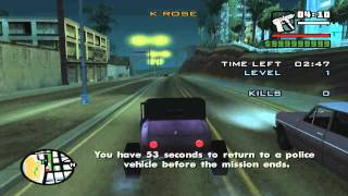 GTA San Andreas get Hotknife early