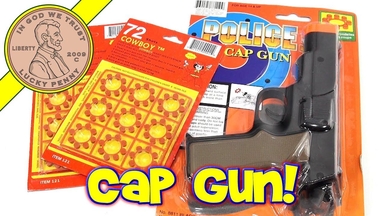 Cap Guns Used  Shot Ring