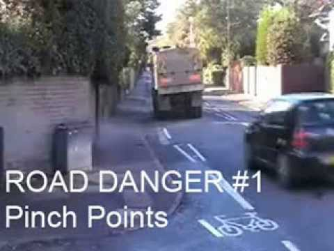 Road Danger - Pinch points for cyclists