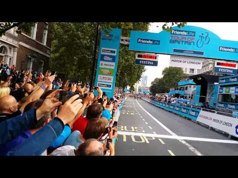 Marcel Kittel wins stage 8b of the 2014 TOB