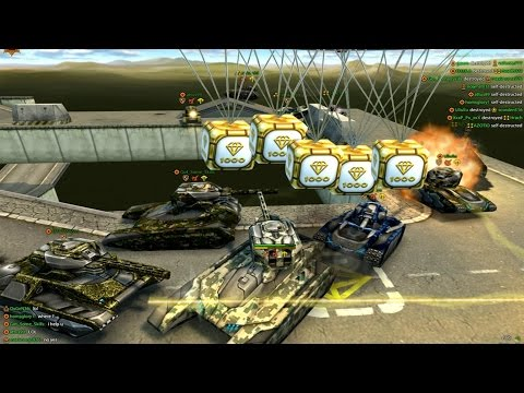Tanki Online Gold Box Video #14 by Oufa
