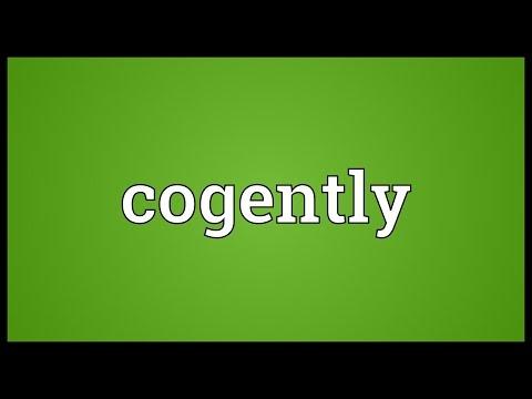 Header of cogently