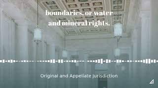 Original and Appellate Jurisdiction