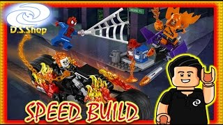 ✅ Lego Speed Build Spider-Man: Ghost Rider Team-Up Set 76058  Marvel Super Heroes Charly darksaint
