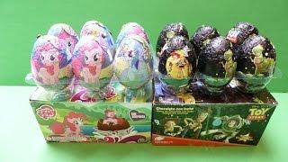 """Trứng Socola """"Những Chú Ngựa Con"""" My Little Pony & Toys Story """"Câu Chuyện Đồ Chơi""""(Bí Đỏ)"""