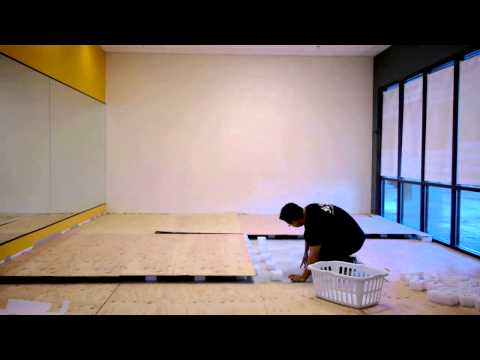 Video of building the ultimate Judo floor! Image 1