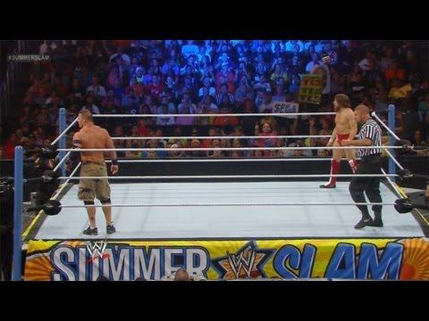 WWE Summer Slam 2013 : John Cena vs Daniel Bryan WWE Championship Match