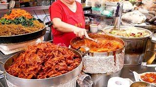 Straateten in de Koreaanse toeristische markt
