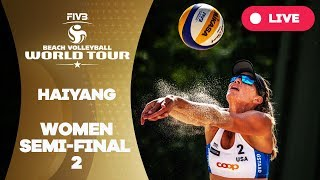 Haiyang 3-Star - 2018 FIVB Beach Volleyball World Tour – Women Semi Final 2