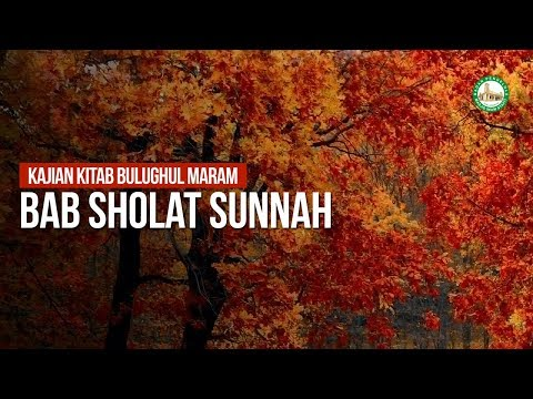 Bab Sholat Sunnah - Ustadz Ahmad Zainuddin Al-Banjary