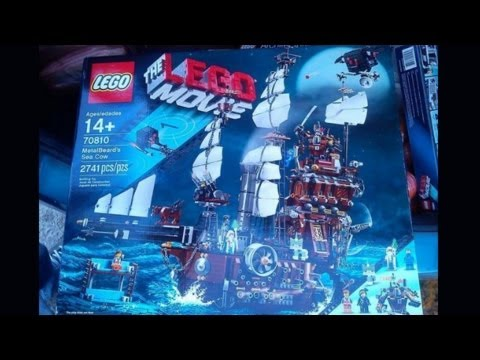 The LEGO Movie Metalbeard's Sea Clow set leaked! (70810)