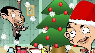 Festive Holidays with Mr Bean! | Funny Episodes | Mr Bean Cartoon World