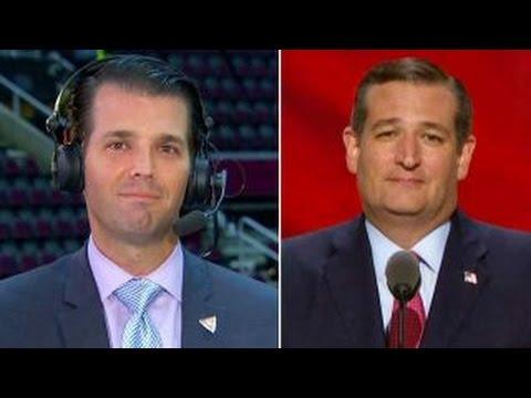 Donald Trump Jr.: Cruz's stance didn't make any sense to me