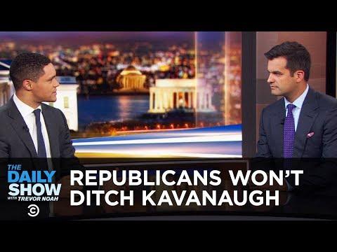Why Don't Republicans Just Dump Brett Kavanaugh? | The Daily Show
